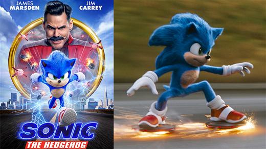 Bild för Matiné - Sonic the Hedgehog (Sv. tal), 2020-03-14, Ersboda Folkets Hus
