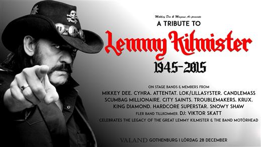 Bild för A Tribute To Lemmy Kilmister, 2019-12-28, Valand