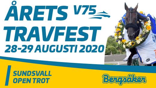 Bild för Sundsvall Open Trot 2020, 2020-08-28, Bergsåker