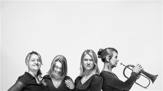 Bild för Teresa Indebetou Band med Ann-Sofie Söderqvist, 2017-11-25, Hallsbergs Jazz- och Bluesklubb