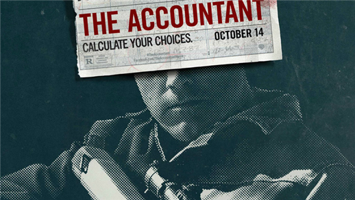 Bild för The Accountant (15 år), 2016-11-09, Biosalongen Folkets Hus