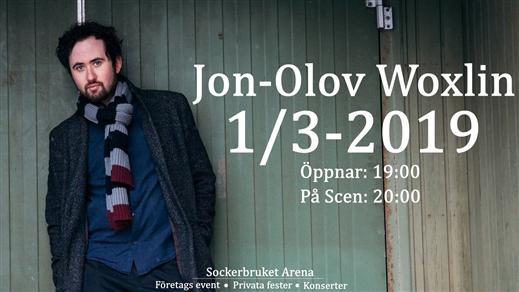 Bild för Jon-Olov Woxlin - release konsert - Fredag 1 mars, 2019-03-01, Sockerbruket Arena