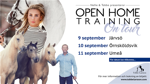 Bild för Open Home Training On Tour, 2016-09-11, Södra Umeå Ryttarförening