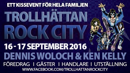 Bild för TROLLHÄTTAN ROCK CITY 2016, 2016-09-16, Trollhättan Rock City - Ett KISSevent för hela familjen