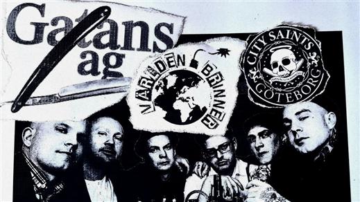 Bild för Gatans Lag + City Saints + Världen Brinner, 2021-11-27, Klubb Undergrunden