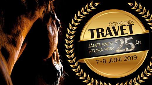 Bild för Kvällstrav  med spel på V64, 2019-06-07, Östersundstravet
