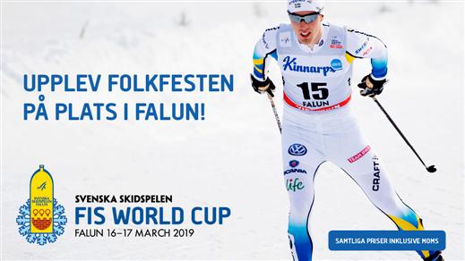 Bild för Företagsbiljetter - FIS World Cup, 2019-03-15, LUGNET SKIDSTADION