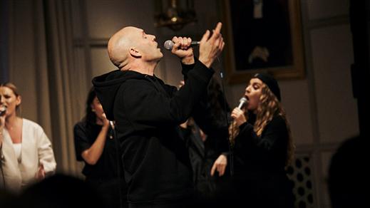 Bild för Kaah med Sthlm Sound Gospel Choir 29/2, 2020-02-29, Fasching