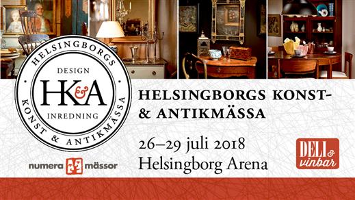 Bild för Helsingborgs Konst- & Antikmässa, 2018-07-25, Helsingborg Arena