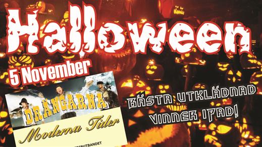 Bild för Halloween med Drängarna & Moderna tider, 2016-11-05, Parkhallen i Tranås