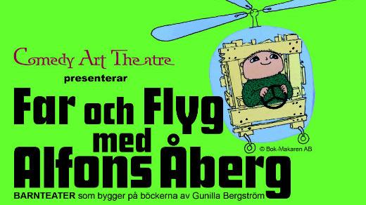 Bild för Far & Flyg med Alfons Åberg, 2021-02-14, Jönköpings Teater