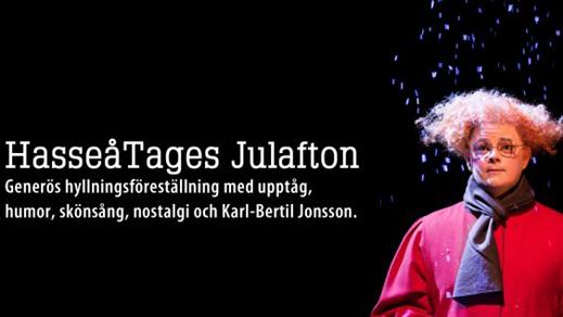 Bild för HasseåTages Julafton 5/12 kl. 19:00, 2018-12-05, Salong Stora Scenen, Västerbottensteatern