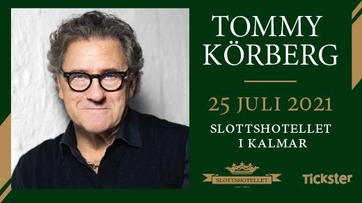 Bild för Tommy Körberg - Dinnershow, 2021-07-25, Slottshotellet Kalmar