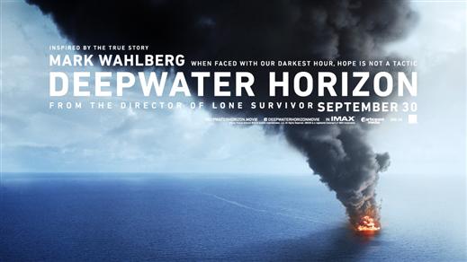 Bild för Deepwater Horizon (Sal1 fr15 Kl20:00 1h47min), 2016-09-30, Saga Salong 1