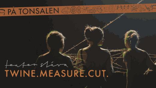 Bild för Twine.Measure.Cut, 2017-03-24, Teater Sláva, Tonsalen i Huddinge