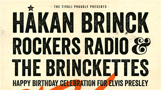 Bild för HAPPY BIRTHDAY ELVIS PRESLEY, 2017-01-08, The Tivoli
