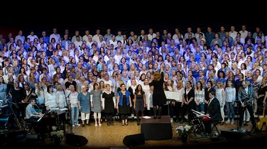 Bild för Sonja Aldén & Sjung med Spångberg, 2016-11-15, Conventum Kongress