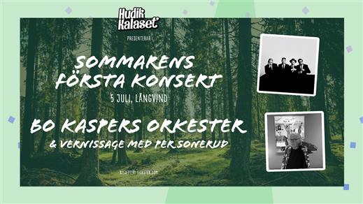 Bild för Sommarens Första Konsert, 2020-07-05, Långvinds Bruk