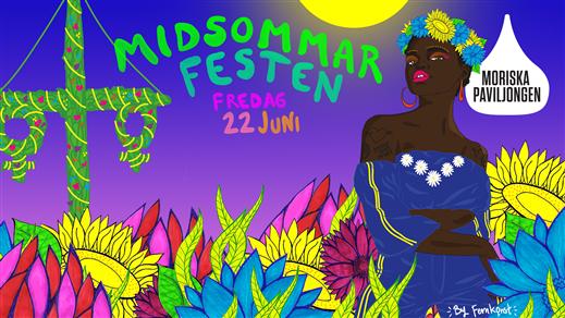Bild för Midsommarfesten! / Moriska Paviljongen, 2018-06-22, Moriska Paviljongen