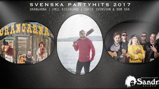 Bild för Svenska Partyhits 2017, 2017-12-09, Nöjespalatset Sandra