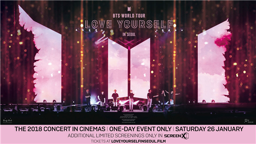 Bild för BTS World Tour Love Yourself in Seoul, 2019-01-26, Kulturhuset Finspång, Stora Salongen