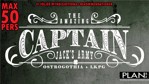 Bild för CAPTAIN JACK´S ARMY, 2020-10-24, Plan B