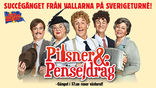 Bild för Pilsner & Penseldrag - Karlskrona, 2018-10-13, Karlskrona Konserthusteater