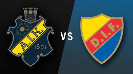 Bild för AIK - Djurgården, 2018-04-19, Solnahallen