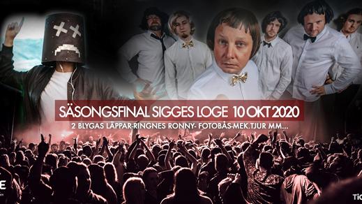 Bild för Säsongsfinal med 2 Blyga Läppar & Ringnes Ronny, 2020-10-10, Sigges Loge