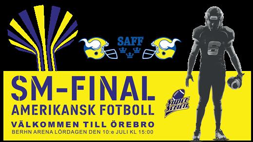 Bild för Superserien Herr SM-Final - Amerikansk Fotboll, 2021-07-10, Behrn Arena