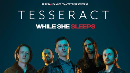 Bild för TesseracT + While She Sleeps, 2019-06-20, Pustervik
