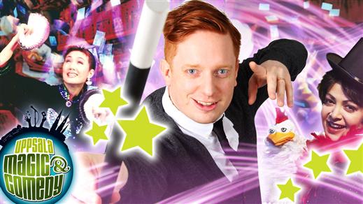 Bild för Uppsala Magic & Comedy: Upp-Sala-Bim, 2019-05-04, UKK - Stora salen