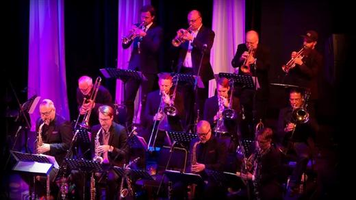 Bild för Stockholm Jazz Orchestra & Göran Strandberg, 2021-11-10, Bryggeriet, Kattastrand
