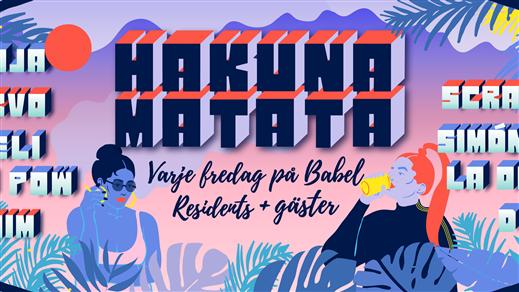 Bild för Hakuna Matata - 27 augusti - Säsongsavslutning, 2016-08-27, Babel
