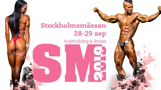 Bild för SM Bodybuilding & Fitness 2019, 2019-09-28, Stockholmsmässan