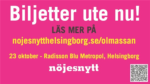 Bild för Nöjesnytt Helsingborgs Ölmässa, 2021-10-23, Radisson Blu Metropol Helsingborg