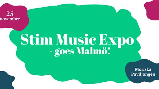 Bild för Stim Music Expo Goes Malmö, 2016-11-25, Moriska Paviljongen