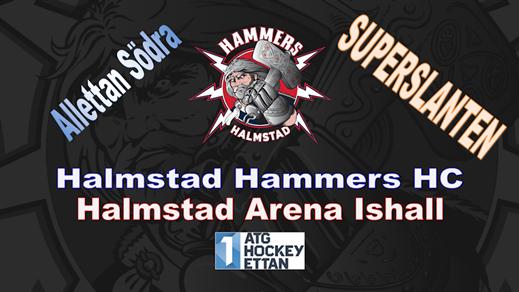 Bild för Halmstad Hammers HC - Nybro Vikings IF, 2020-01-25, Halmstad Arena