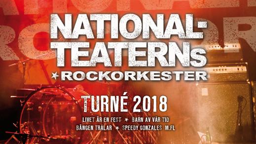 Bild för NATIONALTEATERNS ROCKORKESTER 10/3, 2018-03-10, Apollon, Folkets Hus Kulturhuset