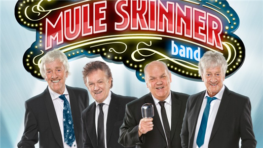 Bild för Mule Skinner Band (Streaplers Legenderna), 2018-10-18, Hullsta Gård Sollefteå
