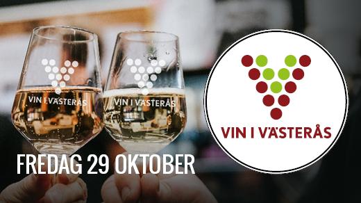 Bild för Vin i Västerås 2021 FREDAG, 2021-10-29, Västerås Konserthus