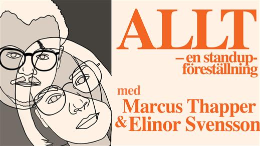 Bild för ALLT - en standup-föreställning - NORRKÖPING, 2021-11-05, Dynamo, Kulturkvarteret Hallarna