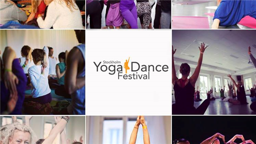 Bild för Stockholm Yoga & Dance festival, 2020-10-30, Balletakademin YoDa festivalen
