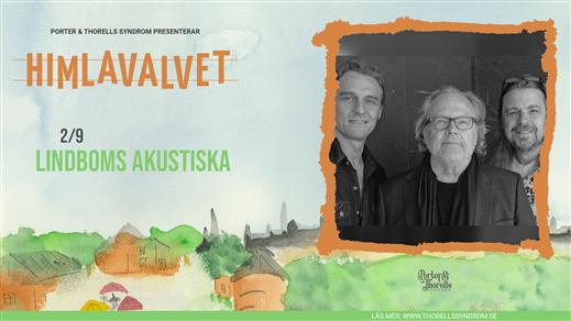 Bild för Lindboms Akustiska, 2021-09-02, Kafé Himlavalvet