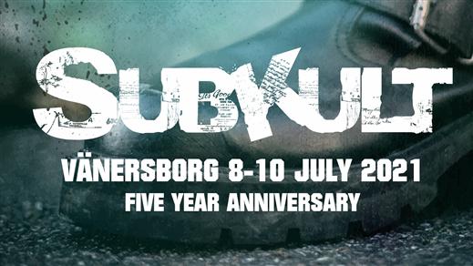 Bild för Subkultfestivalen - 5 Year Anniversary, 2021-07-08, Trollhättan