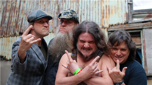Bild för Hayseed Dixie (US), 2017-09-20, East West