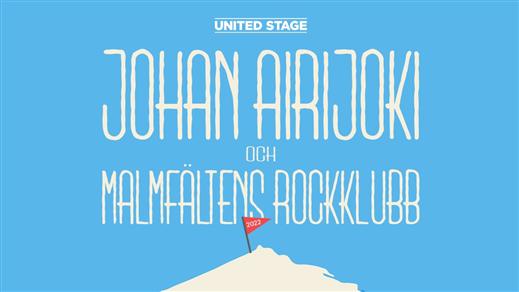 Bild för Johan Airijoki & Malmfältens Rockklubb, 2022-02-17, Nöjesfabriken