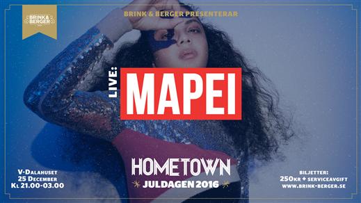 Bild för Hometown - Juldagen i Uppsala - Live: MAPEI, 2016-12-25, V-dalahuset