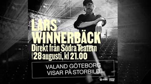 Bild för LARS WINNERBÄCK - direktsänt på VALAND, 2021-08-28, Valand