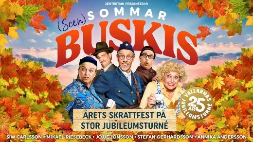 Bild för Scensommarbuskis | 20:00, 2021-11-20, Konserthuset